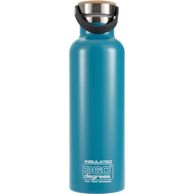 360° degrees Vacuum Insulated Bidon 750ml, teal